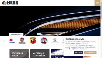 Site internet de Hess Connect