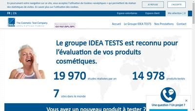Site internet de Institut Dermatologique d'Aquitaine - Idea