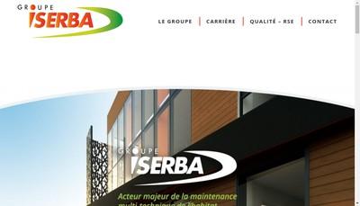 Site internet de Iserba