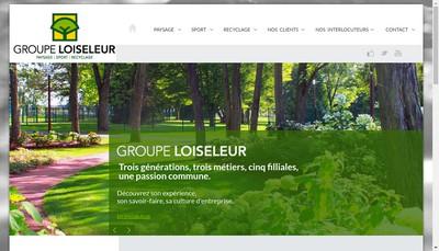 Site internet de Loiseleur Freres