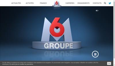 Site internet de M6 Music Hits M6 Music Club