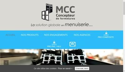 Site internet de Compo Fermetures