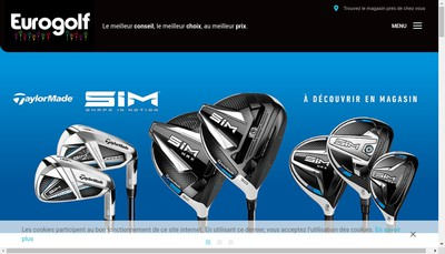 Site internet de Groupement Eurogolf