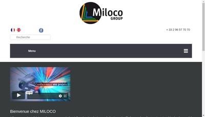 Site internet de Miloco Production
