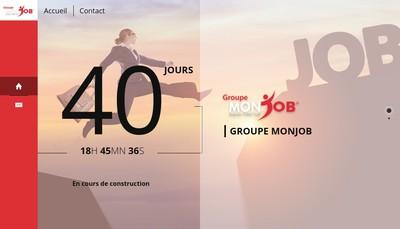 Site internet de Mon Job Lyon