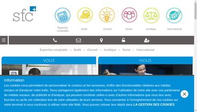 Site internet de Fiduciaire Centrex