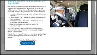 Site internet de Gruau Laval