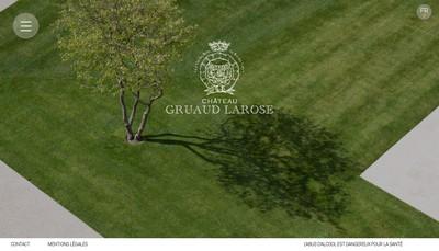 Site internet de Chateau Gruaud Larose