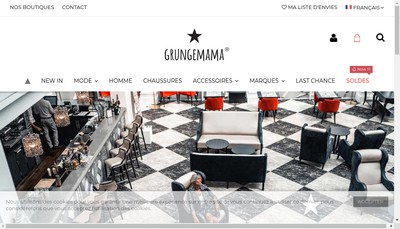 Site internet de Grunge Mama