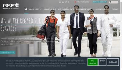 Site internet de Gsf Aero