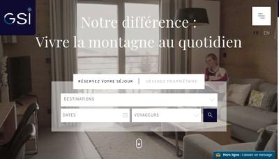 Site internet de Gsi Immobilier