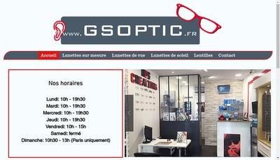 Site internet de Gs Optic