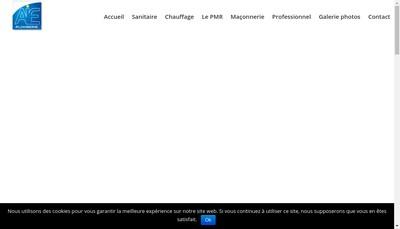 Site internet de A Bourdeaux Plomberie