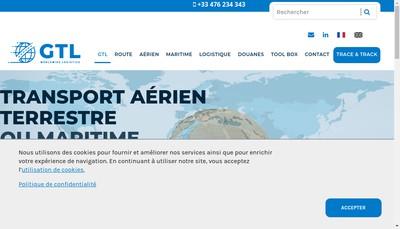 Site internet de Global Transport Logistic Internat
