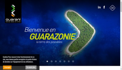Site internet de Guarani Occitanie