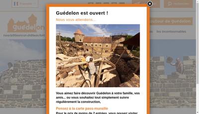 Site internet de Guedelon, Guedelon Chantier Medieval