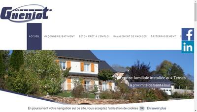 Site internet de Maison Gueniot