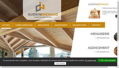 Site internet de SARL Guerin Bremaud