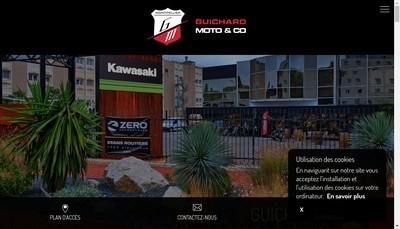 Site internet de Guichard Moto