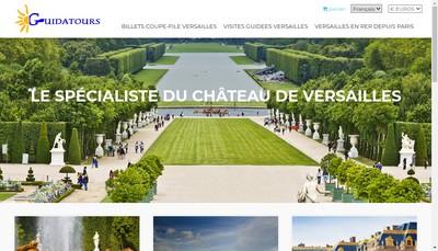 Site internet de Guidatours