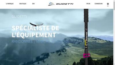 Site internet de Guidetti Freres