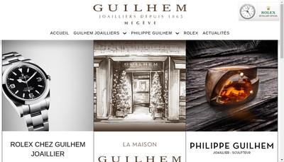 Site internet de Guilhem Joailliers