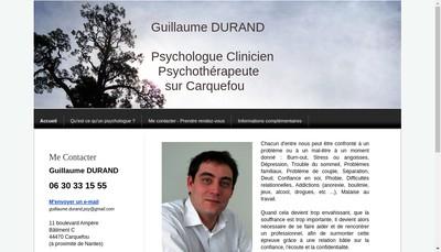 Site internet de Guillaume Durand