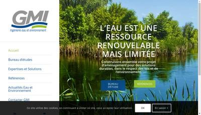 Site internet de Guillaume Marais Ingenierie