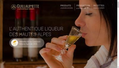 Site internet de Guillaumette