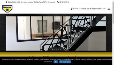 Site internet de Guillermic