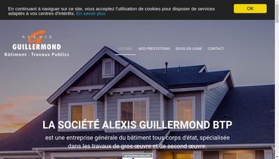 Site internet de Alexis Guillermond Btp