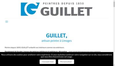 Site internet de Guillet & Fils