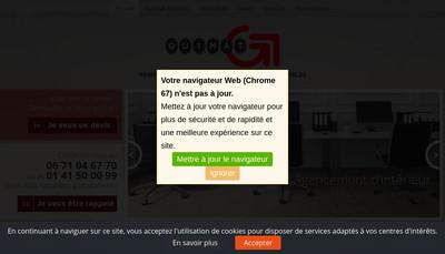 Site internet de Guimat Services