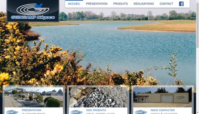 Site internet de Societe Guingamp