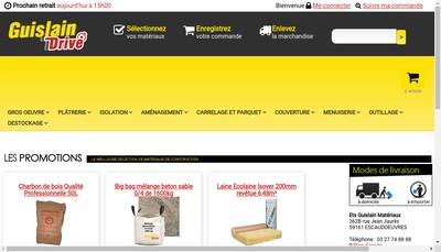 Site internet de Etablissements Guislain