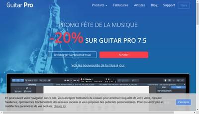 Site internet de Arobas Music