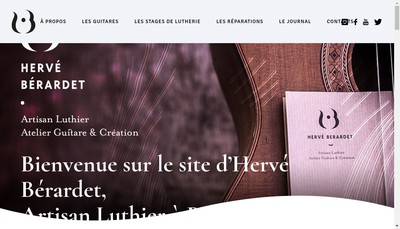 Site internet de Guitare et Creation