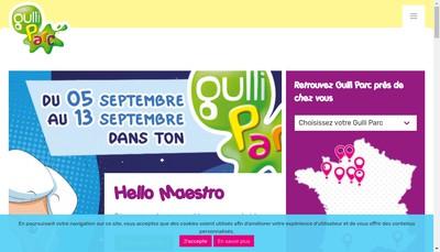 Site internet de Gulli Parc