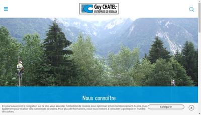 Site internet de Entreprise Guy Chatel SA