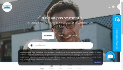 Site internet de Guy Hocquet L 'Immobilier