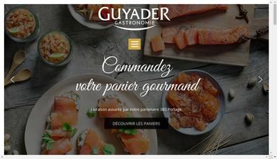 Site internet de Guyader Traiteur Frais