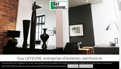 Site internet de SAS Guy Lefevre