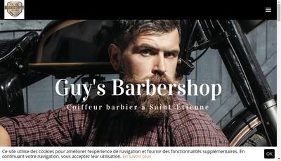 Site internet de Guy'S Barber Shop