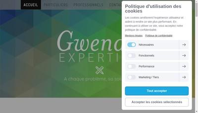 Site internet de Gwenan Expertise