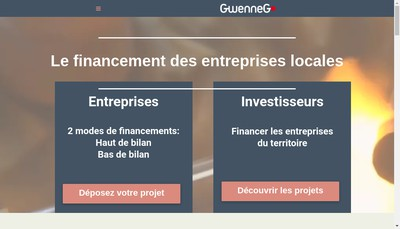 Site internet de Gwenneg Capital Frigo Magic