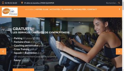 Site internet de Gym In