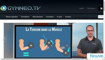 Site internet de Gymneo