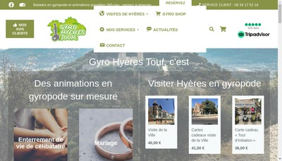 Site internet de Gyro-Hyeres-Tour