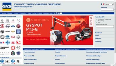 Site internet de Gys