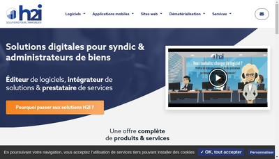 Site internet de H2I